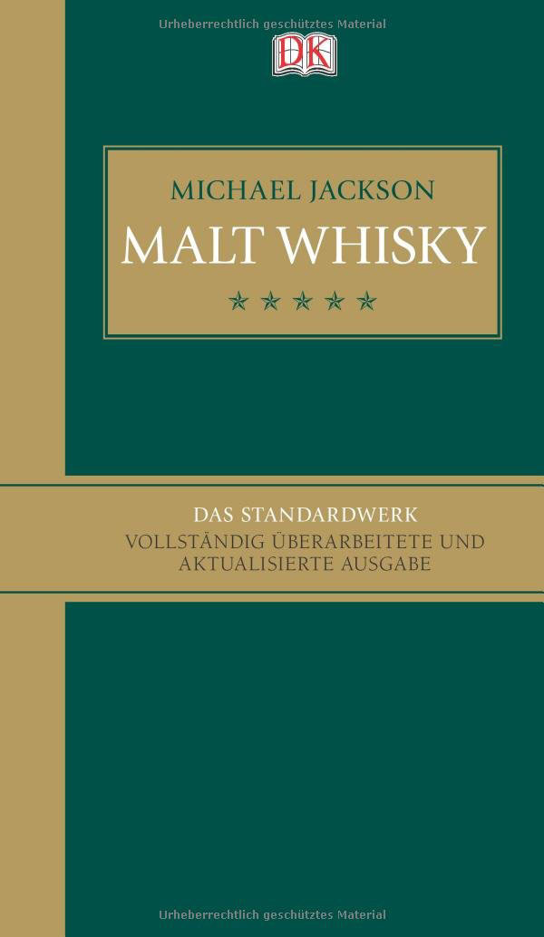 Buch-Cover: Malt Whisky (von Michael Jackson)