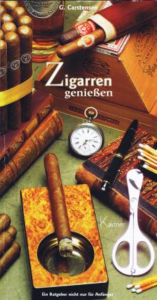 Buch-Cover: Zigarren geniessen (von G. Carstensen)