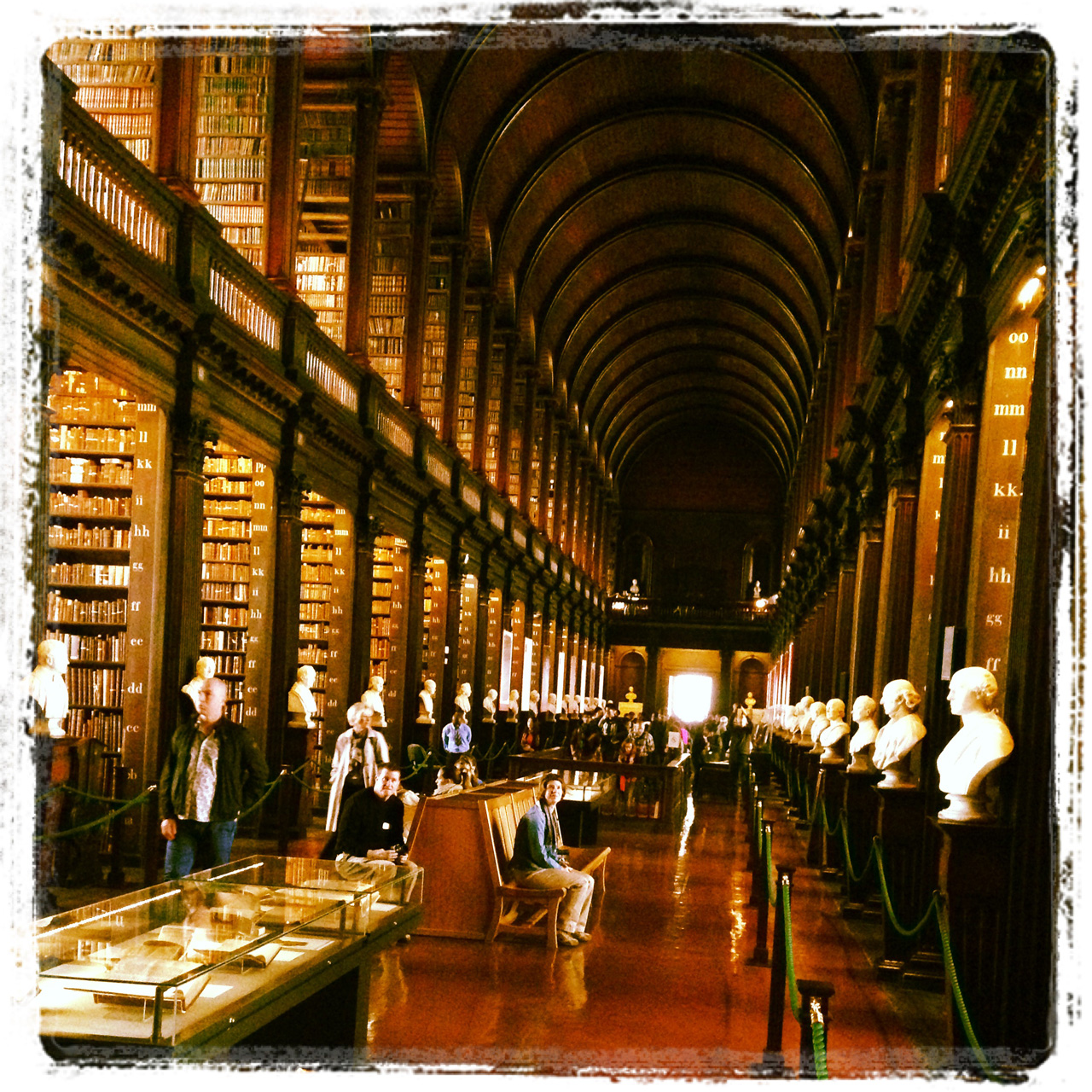 Long Room der Trinity College Library