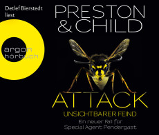 Hörbuch-Cover: Attack (von Douglas Preston & Lincoln Child)