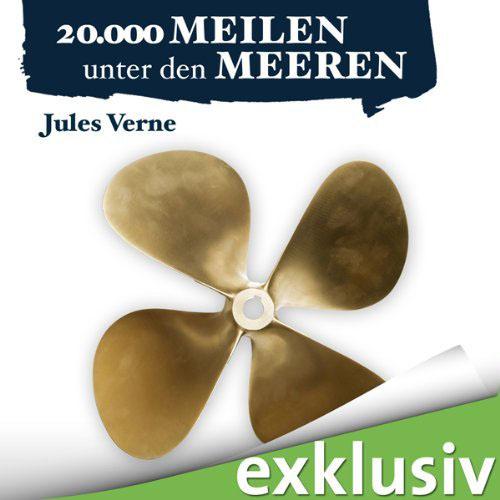 Hörbuch-Cover: 20.000 Meilen unter den Meeren (von Jules Verne)