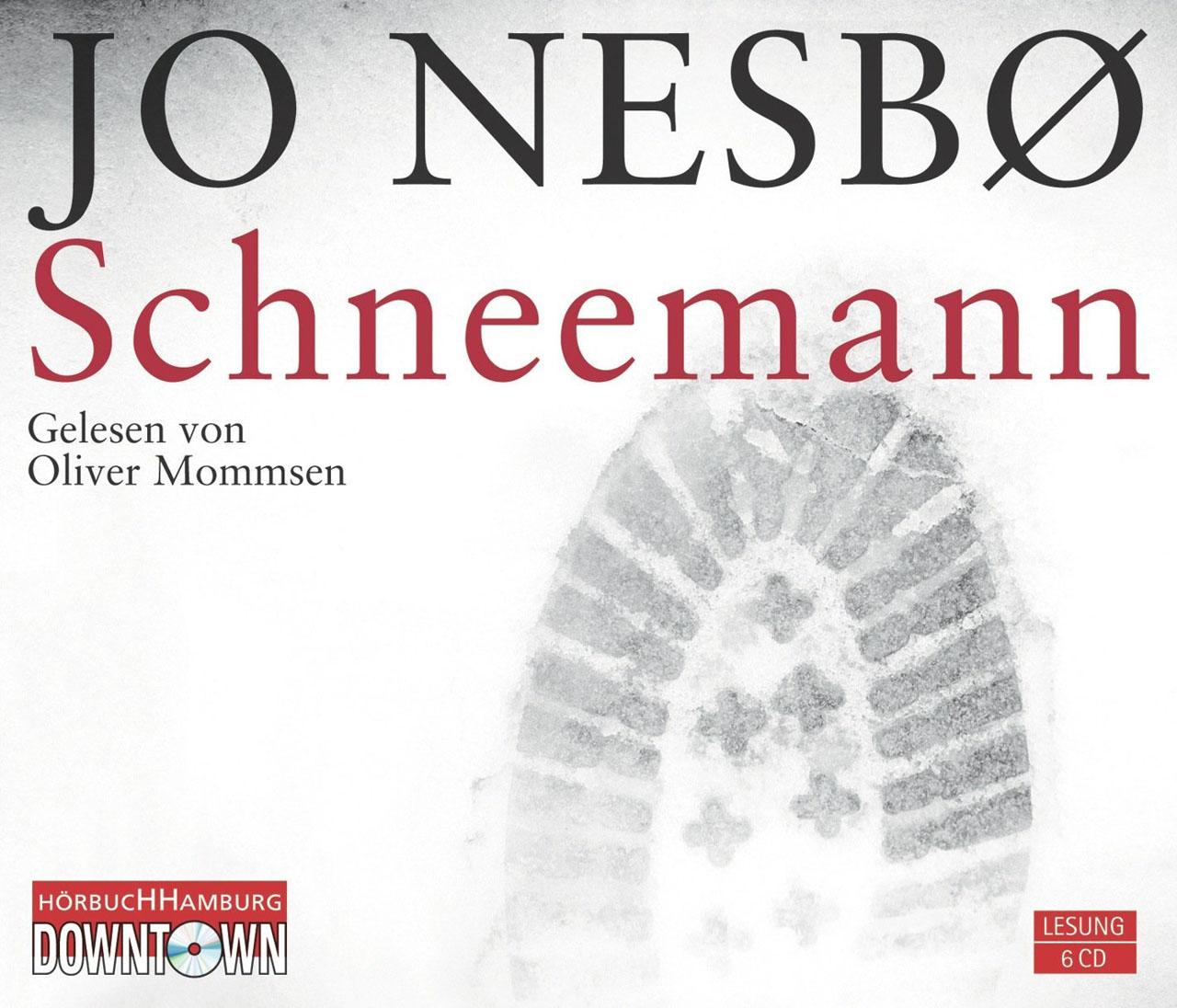 Hörbuch-Cover: Schneemann (von Jo Nesbø)