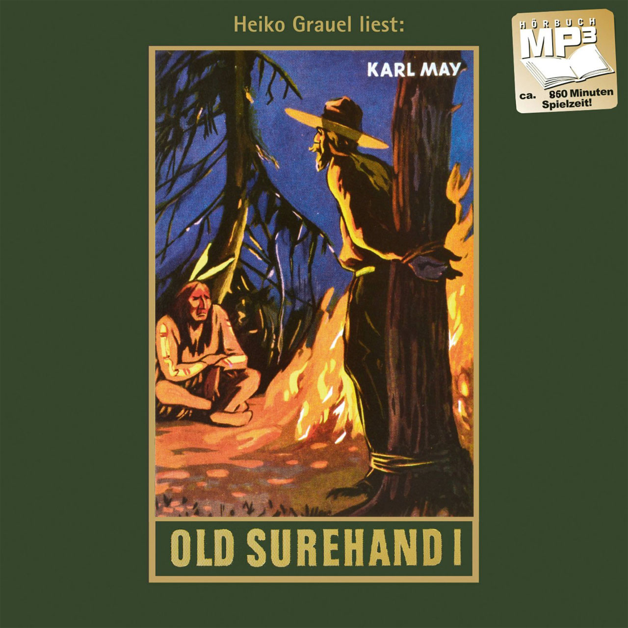 Hörbuch-Cover: Old Surehand I (von Karl May)