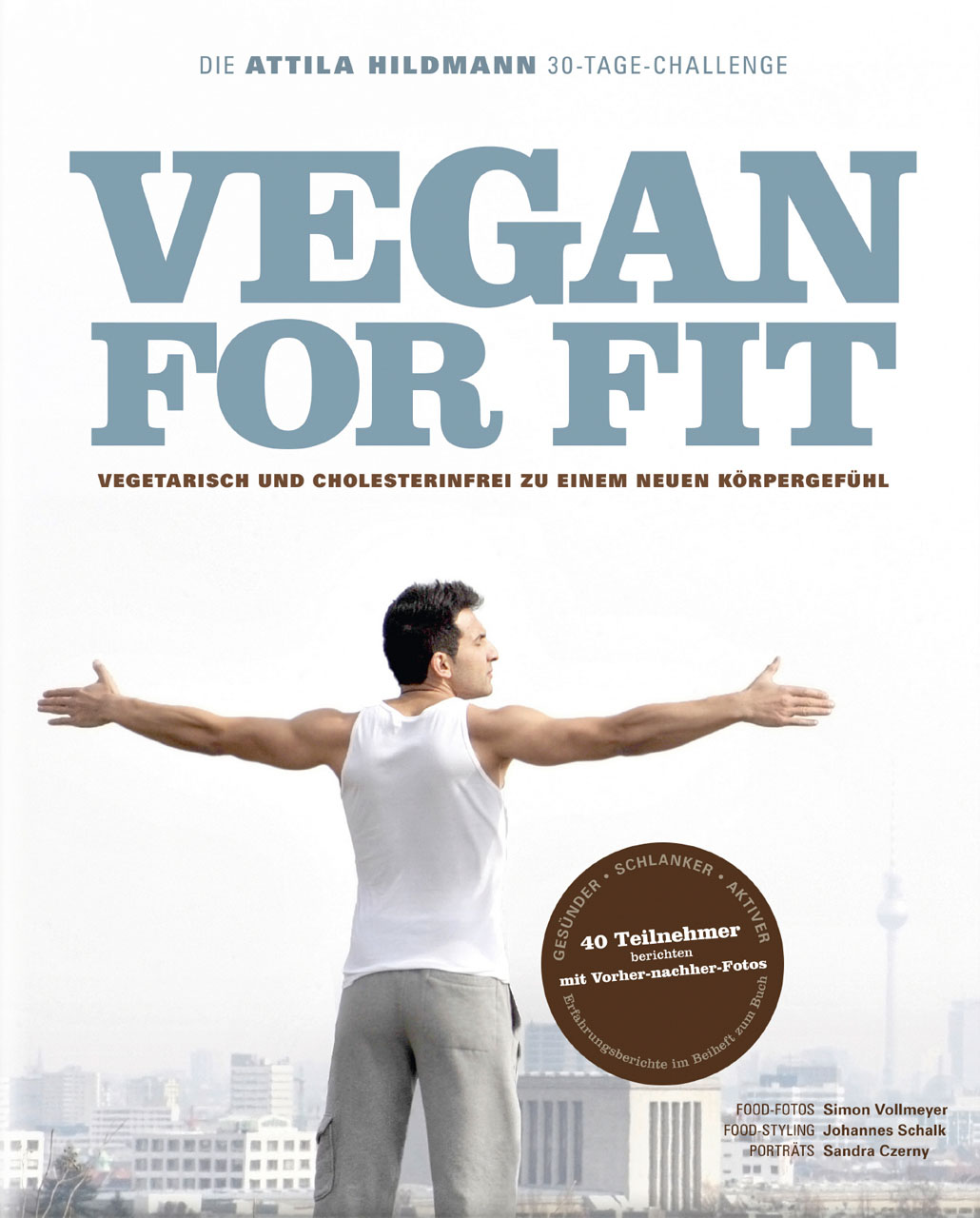 Buch-Cover: Vegan for Fit (von Attila Hildmann)