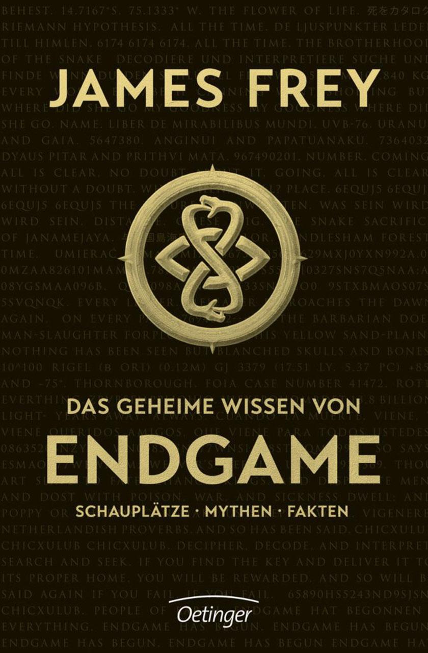 Buch-Cover: Das geheime Wissen von Endgame (von James Frey)