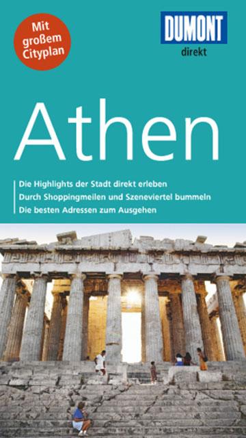 Buch-Cover: DuMont direkt Reiseführer Athen (von Klaus Bötig)