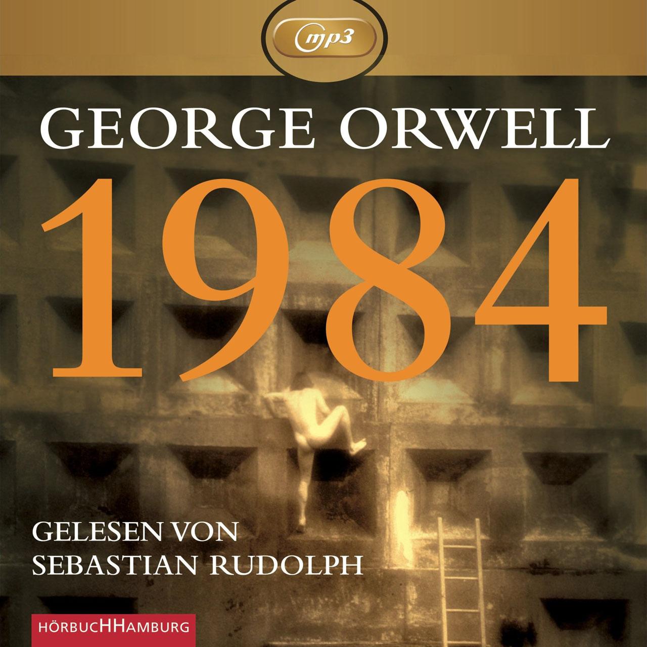 Hörbuch-Cover: 1984 (von George Orwell)