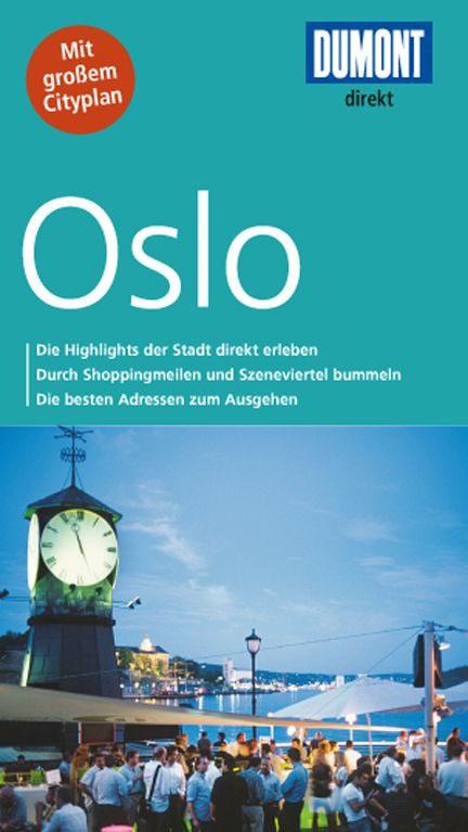 Buch-Cover: DuMont direkt Reiseführer Oslo (von Annette Ster & Michael Möbius)