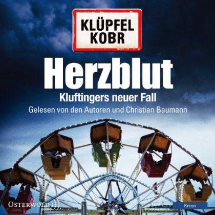 Hörbuch-Cover: Herzblut (von Volker Klüpfel & Michael Kobr)